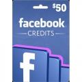 Facebook Credits $50