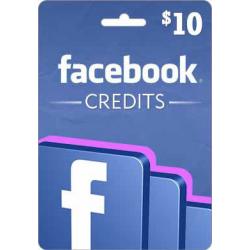 بطاقة فيسبوك 10$ (عالمى)