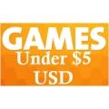 ألعاب أقل من خمسة دولار