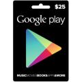 بطاقة جوجل بلاي 25 دولار