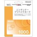 Nintendo 1000YEN Prepaid Card - JAPAN