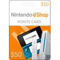 Nintendo E-Shop $50 Card -USA