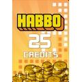 بطاقة هابو هوتيل 25 كريدتس - عالمي