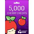 5,000 Cherry Credits